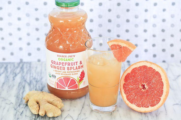 Organic Grapefruit & Ginger Splash   Trader Joe's