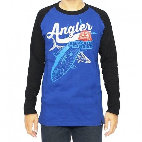 "Kaos Mancing IFT ""ANGLER CERTIFIED (BLUE)"""