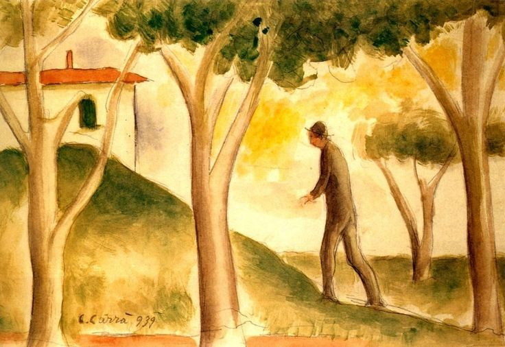carlo carrà - verso casa 1939