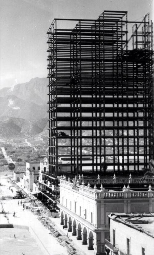avances en la construcción del Condominio Acero Monterrey
