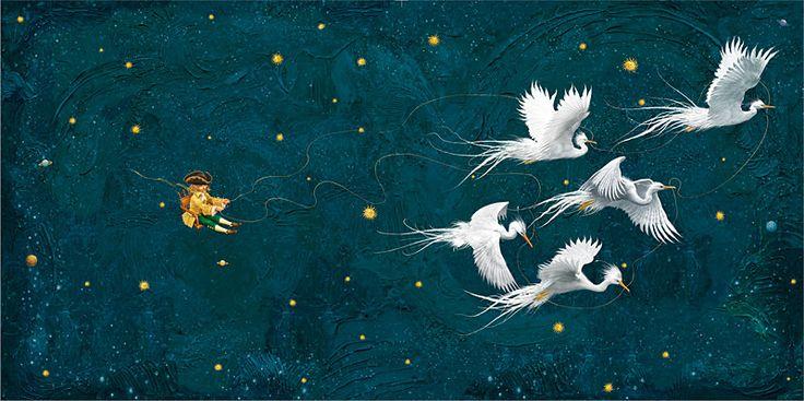 Ukrainian artist / Владислав Єрко. Ілюстрація до книги Маленький принц / The Little Prince illustrated by Vladislav Erko. Book illustration. Children's book