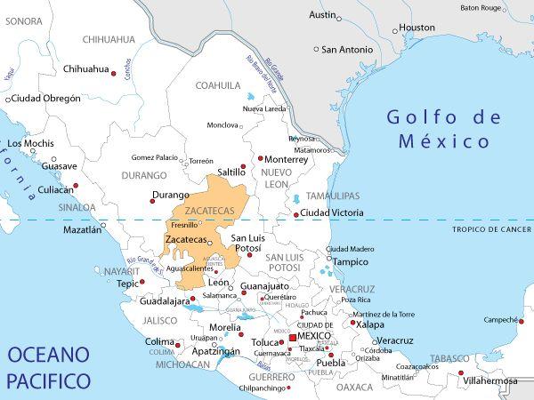 Ms de 25 ideas increbles sobre Mapa de mxico en Pinterest