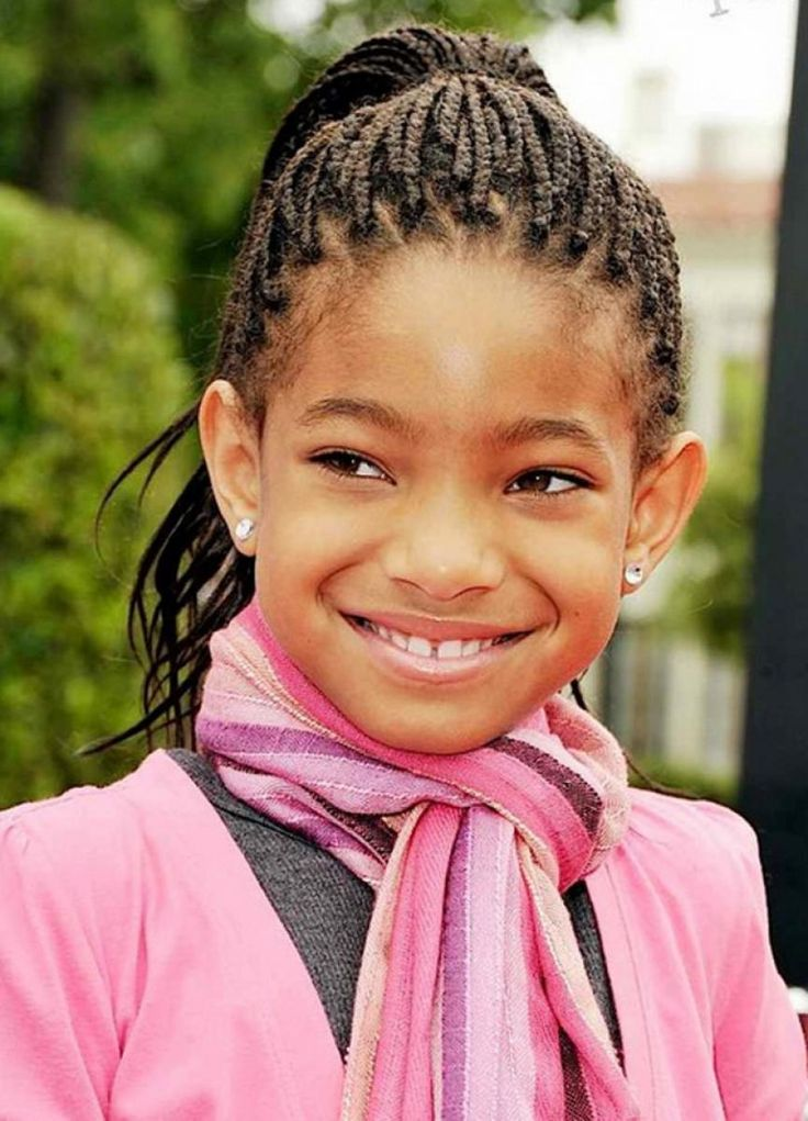 Braided Hairstyles For Girls find this pin and more on natural hair style braids by bestnaturalhair Little Black Girls Braided Hairstyles