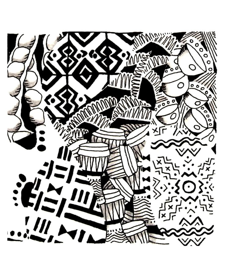 african design coloring pages - photo#12