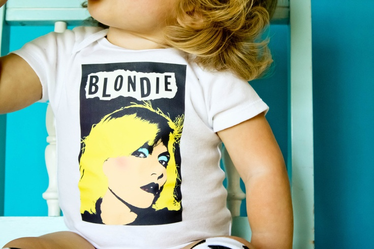 //Blondie Baby Onesie - Toddler Shirt also available. $17.00, via Etsy.