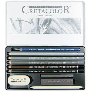 Cretacolor Artino graphite set hos Pen Store - Billiga, snabba och vassast på pennor - frakt till hela Sverige!