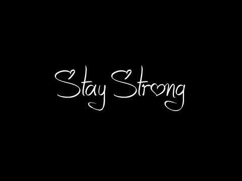 stay strong, may b tattoo
