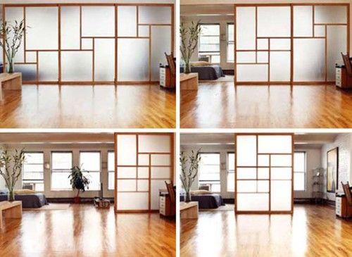 Mur séparateur / (Japanese-Style) Sliding Door Semi-Transparent Design