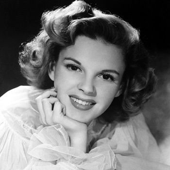 """Judy Garland  (6/10/22 – 6/22/69)  American actress, singer and vaudevillian. Described by Fred Astaire as """"the greatest entertainer who ever lived"""" and renowned for her contralto voice."""