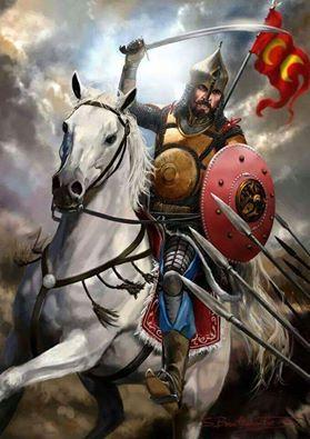 """""""Ya muzaffer olur gayeme ulaşırım, ya da şehit olarak Cennet'e giderim. Burada emreden sultan ve emredilen asker yoktur. Zira bugün ben de ancak sizlerden biriyim, sizlerle birlikte savaşan bir gaziyim. Ölürsem kefenim, üzerimdeki elbisemdir."""" Sultan ALPARSLAN"""