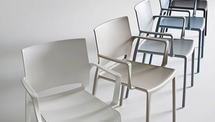 Bakhita chairs with armrests