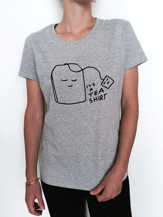 it's a tea shirt Tshirt gray Fashion funny slogan by Nallashop