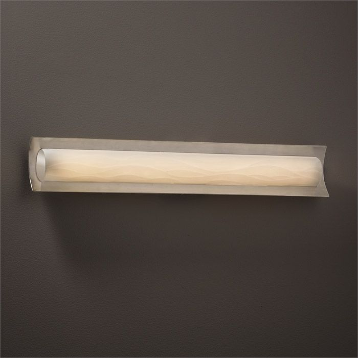 Lineate 30 inch Bathroom Vanity Light by Justice Design