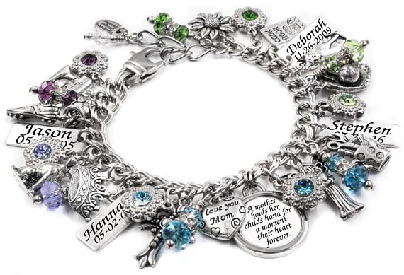 Mom Jewelry Personalized Mother's Jewelry Gift for Mom