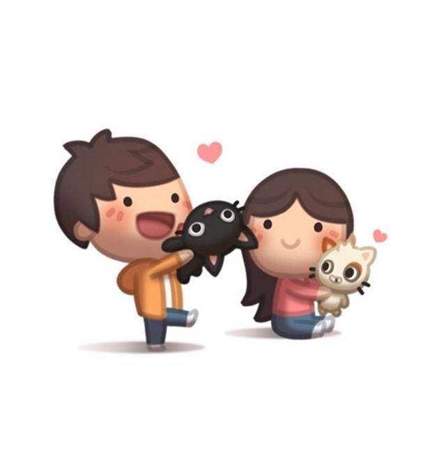❤️ #hjstory #cute #love #togehter #cats
