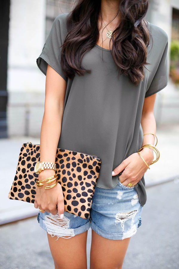 16 Ways To Wear Denim Cutoff Shorts