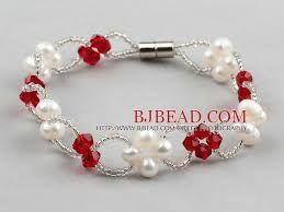 Resultado de imagen para bisuteria pulseras de perlas