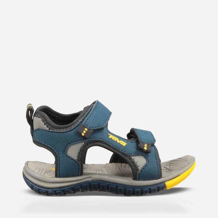 Free Shipping & Free Returns on Authentic Teva® Kids' Sandals. Shop our Collection of Sandals for Kids including the Toddlers' Tanzium - Sport Sandals - Navy Yellow at Teva.com