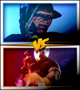 FREDDY KRUEGER versus JASON VOORHEES ■ http://terror.ca/movies/franchise/rank?f=257&f2=258
