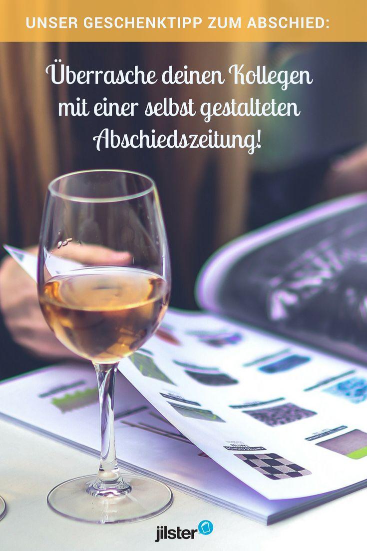 15 best Abschiedszeitung für Kollegen gestalten   Abschiedsgeschenk ...