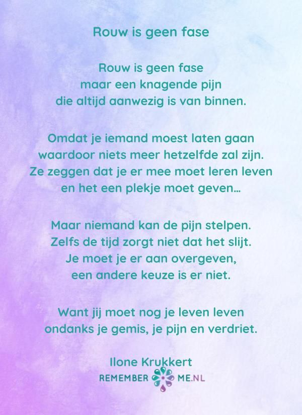 lees gedichten over rouw en verlies | verlies - quotes, grief en