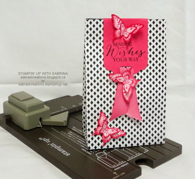 Stampin' Up With Sabrina: New Gift Bag Punch Board!