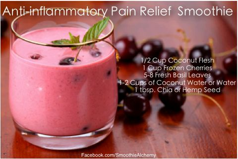 Easy Homesteading: Anti-Inflammatory Pain Relief Smoothie