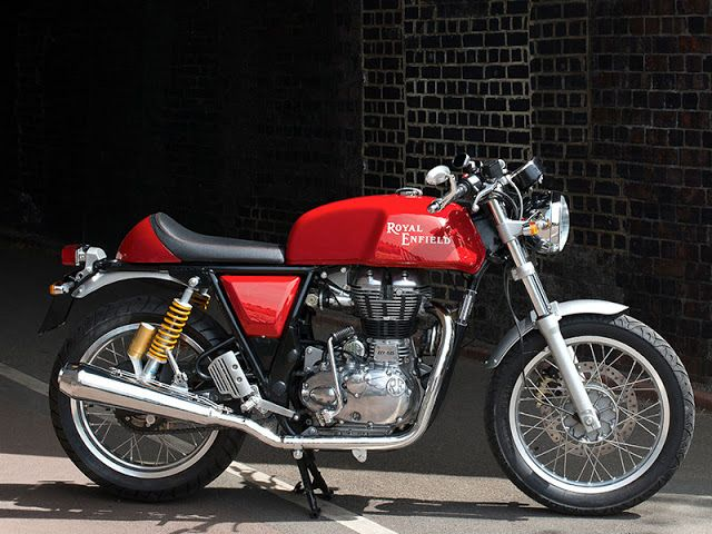 Royal Enfield Continental GT Cafe Racer ~ Return of the Cafe Racers