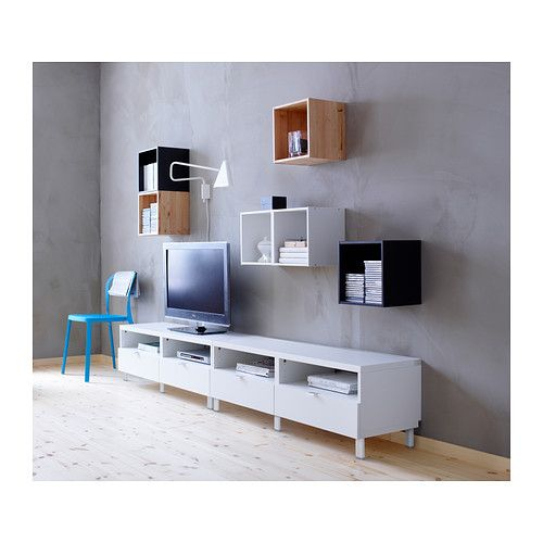 FÖRHÖJA Armario de pared - blanco - IKEA