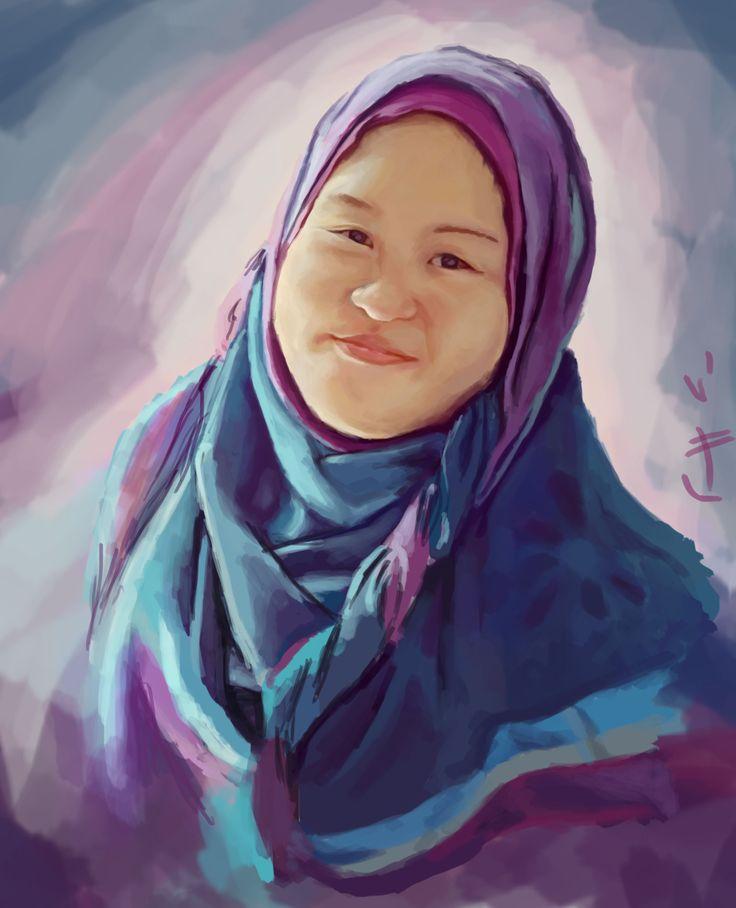 hafidah.. she is my friends