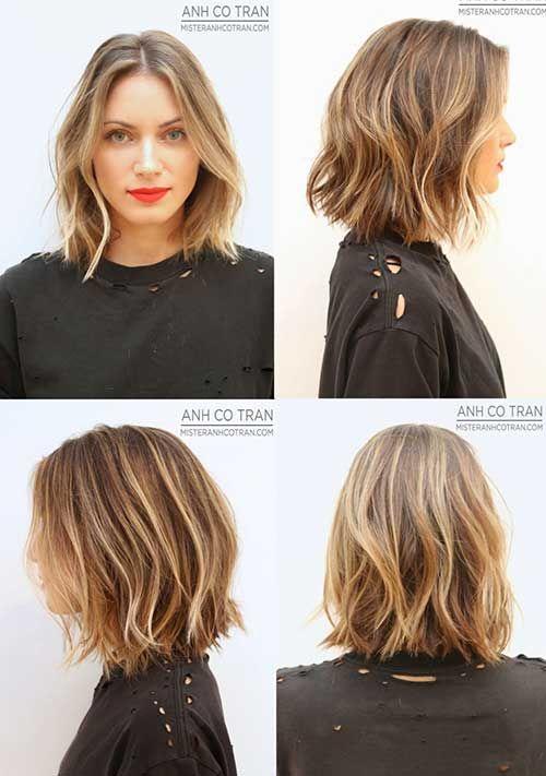15+ Layered Frisuren für kurze Haare – Laura Mrg