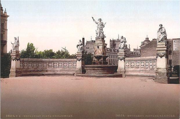 Sarindar Fountain, Bucharest