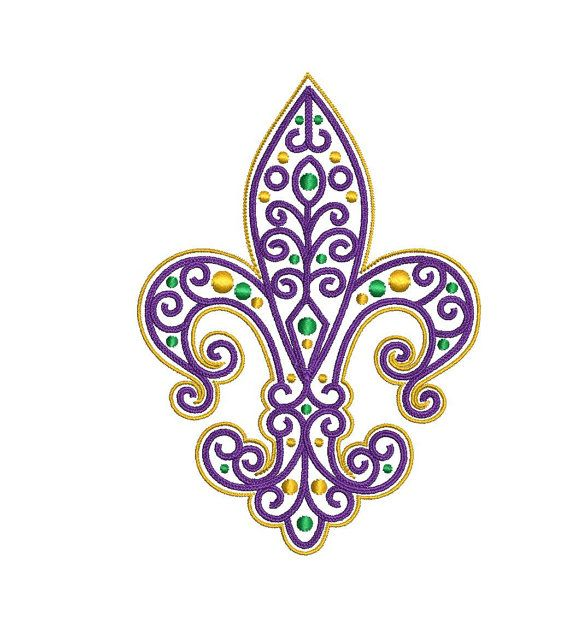 Mardi Gras Masks Embroidery Designs