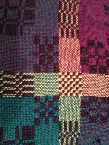 Large Vintage Welsh Tapestry Blanket With Certificate   eBay