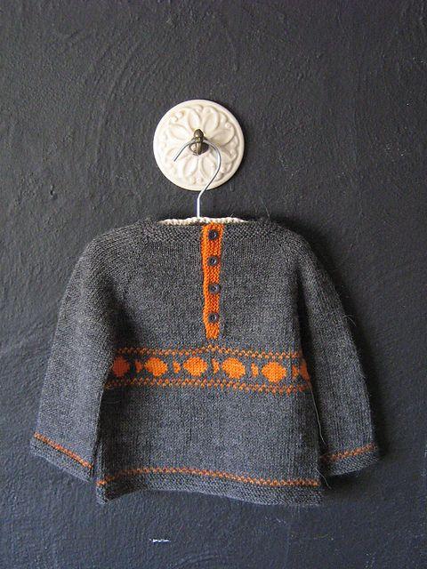 Ravelry: Sweet Baby Sweater pattern by Caroline Wiens