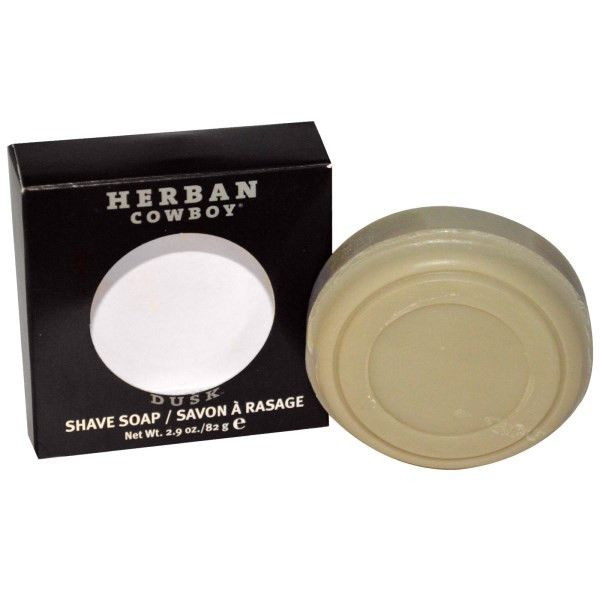 Herban Cowboy Natural Grooming Shaving Soap - Dusk - 2.9 oz