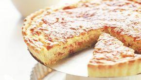 Κις λορέν με ζαμπόν, μπέικον και τυριά