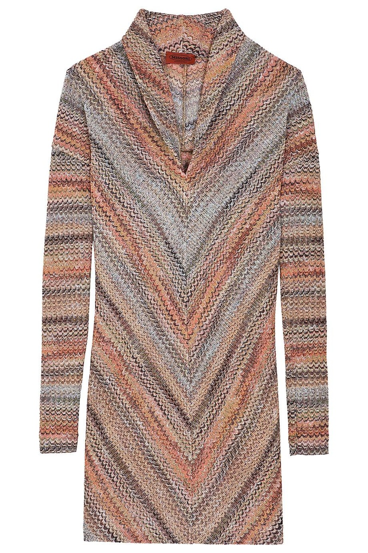 Lurex Shirt Dress By MISSONI @ http://www.boutique1.com/