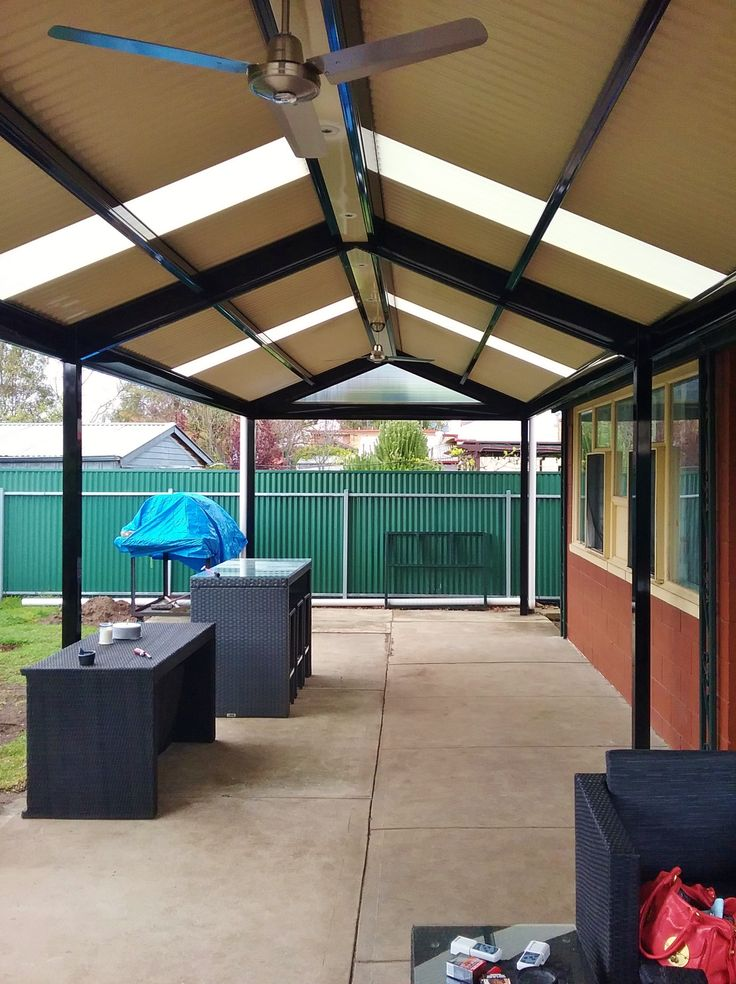 Pergolas / Verandahs Largs Bay, SA New colorbond colour is out Night Sky or hi gloss black. It is sensitive, but if you like it you will take care of it.