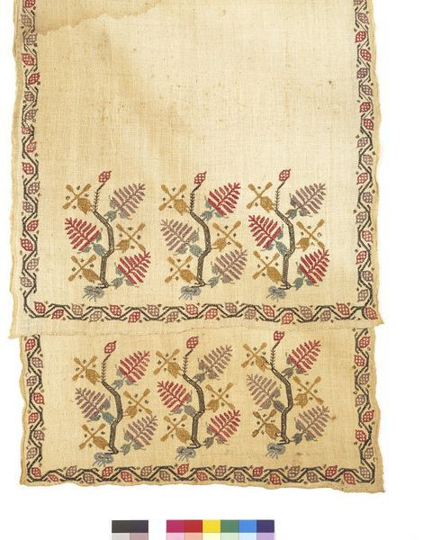 Towel or napkin | V&A Search the Collections