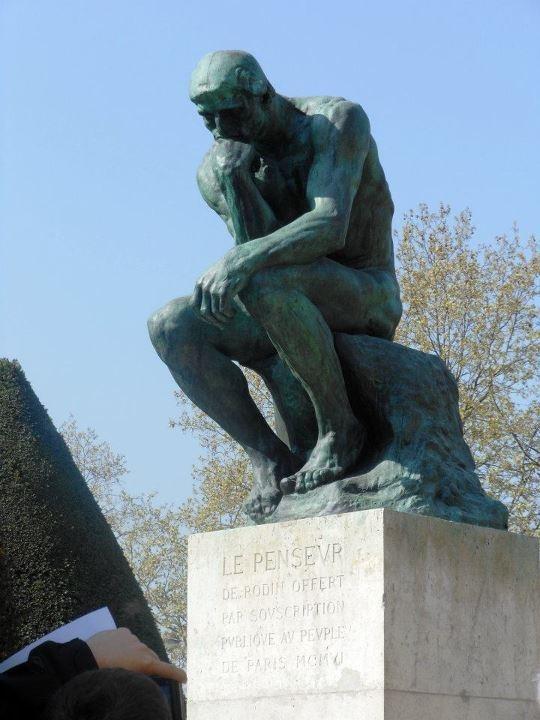 The Thinker, Rodin Museum, Paris