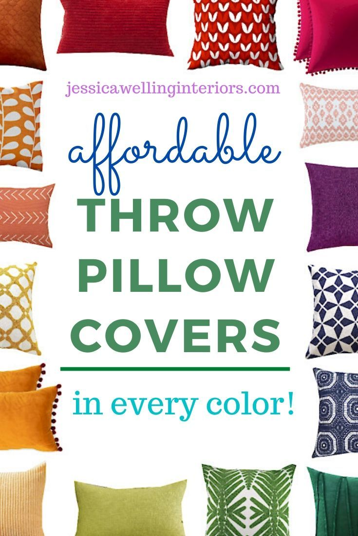 These Cheap Colorful Throw Pillow Covers Are Perfect For Adding Some Modern Boho In 2020 Colorful Throw Pillows Colorful Throw Pillow Covers Cheap Throw Pillow Covers