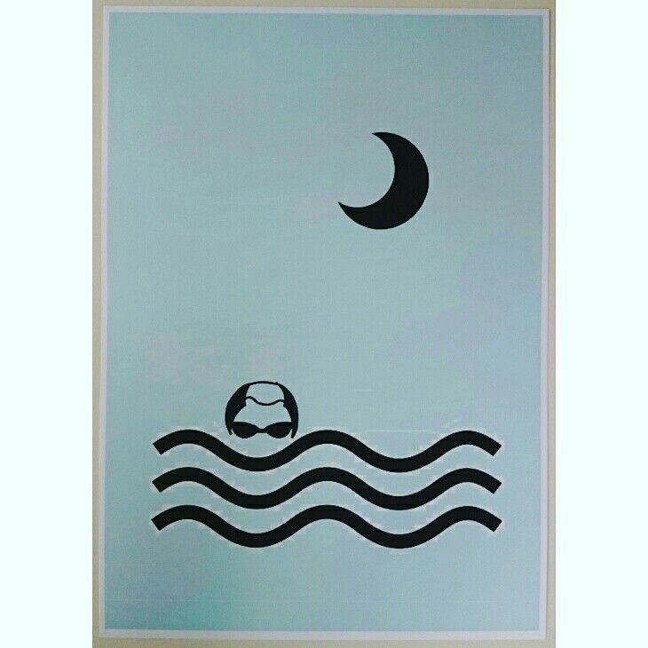 Nightswimmer blue