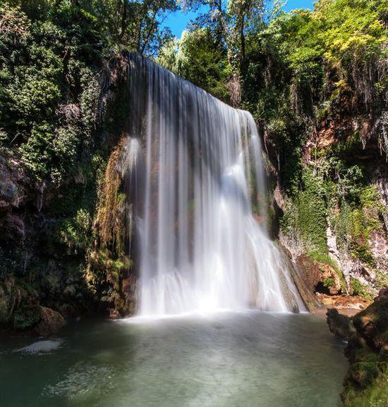 Velo de la Novia en el monasterio de piedra - cascadas españolas