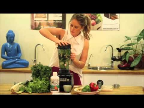 Watch our Bio Chef blender in action making a wholesome & delicious green smoothie