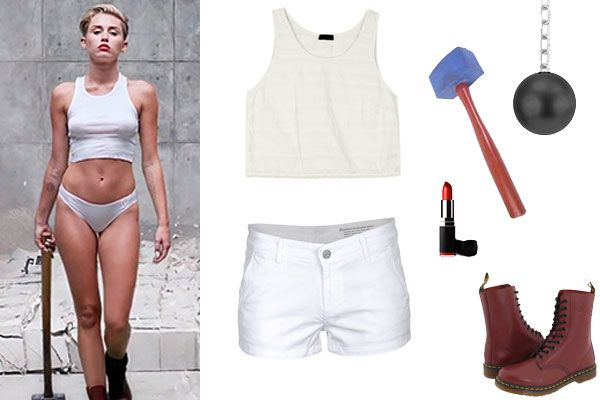 DIY Miley Cyrus Costume: Wrecking Ball                                                                                                                                                                                 More