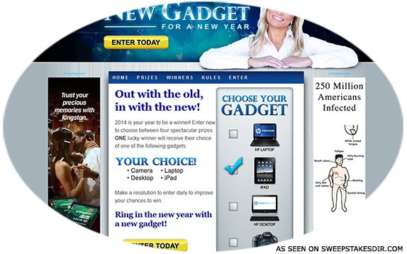 The Kim Komando Show New Gadget for a New Year Sweepstakes