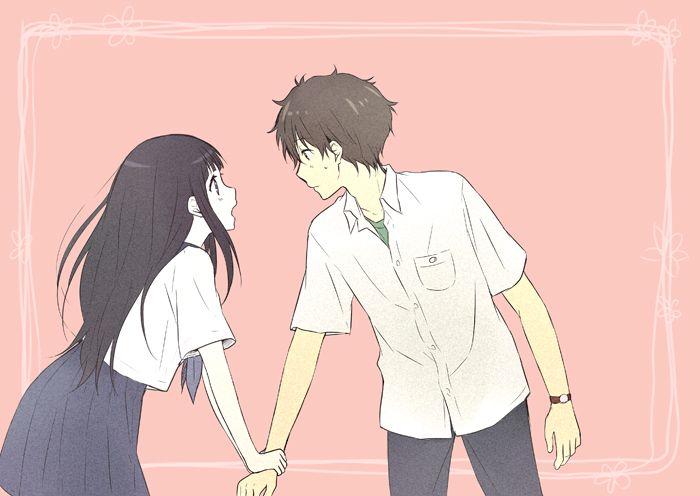 Hyouka   Kyoto Animation   Yonezawa Honobu / Oreki Houtarou and Chitanda Eru / 「氷菓ログ6」/「Rito」のイラスト [pixiv] [02]