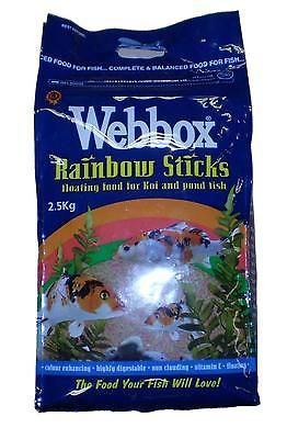 #Webbox #rainbow #sticks for pond fish,  View more on the LINK: 	http://www.zeppy.io/product/gb/2/151206312091/