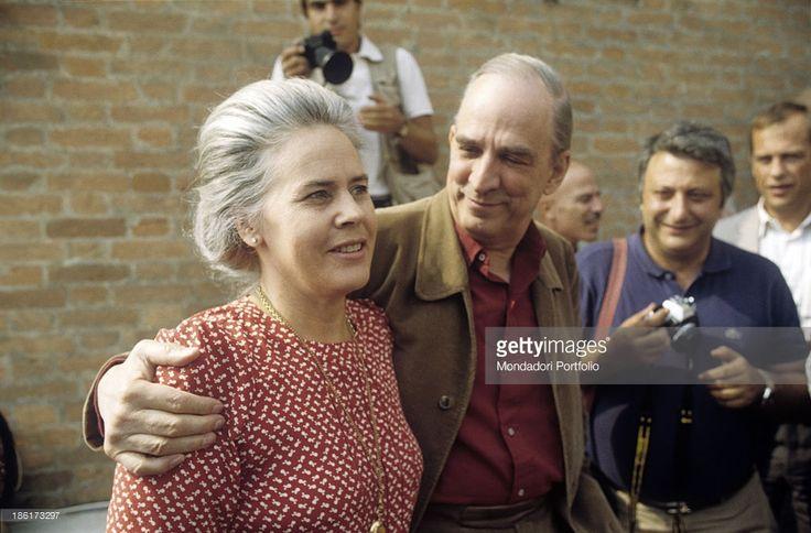 Ingmar Bergman and wife Ingrid von Rosen (Bergman).